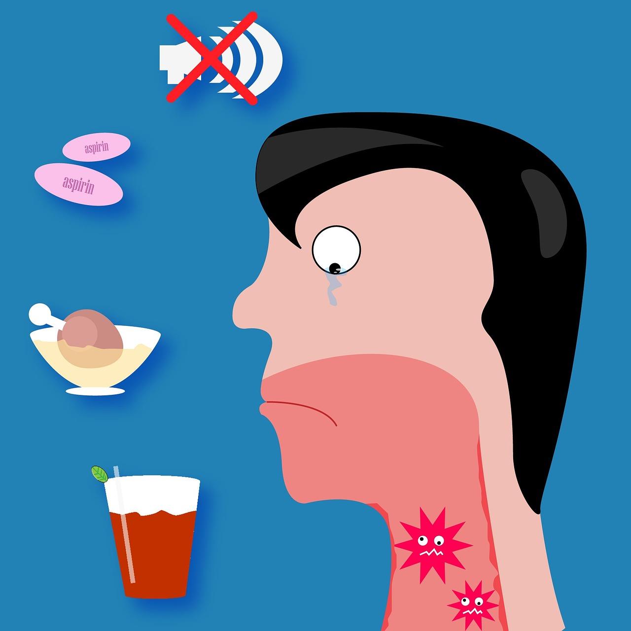 Ból gardła? Są na to domowe sposoby